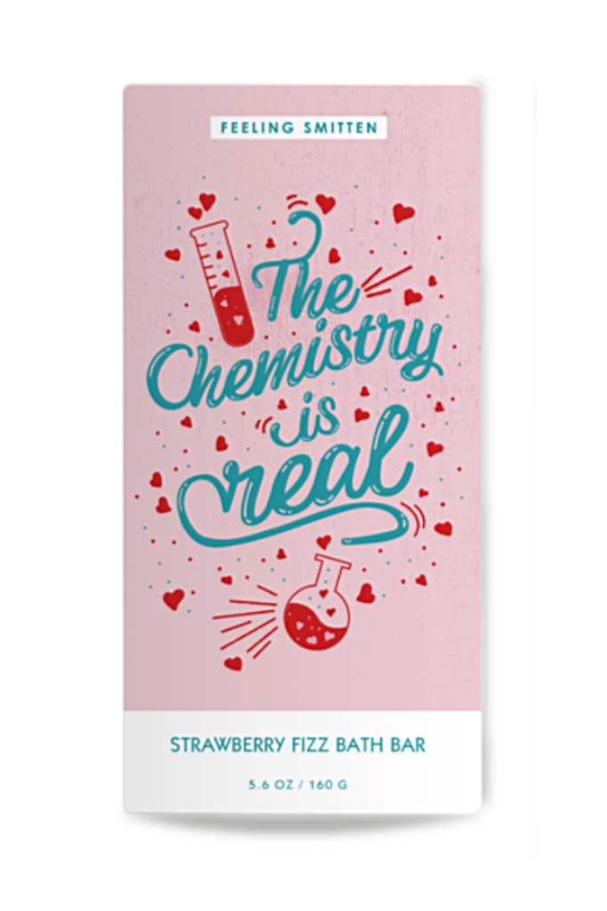 Chemistry Strawberry Fizz Bath Bar