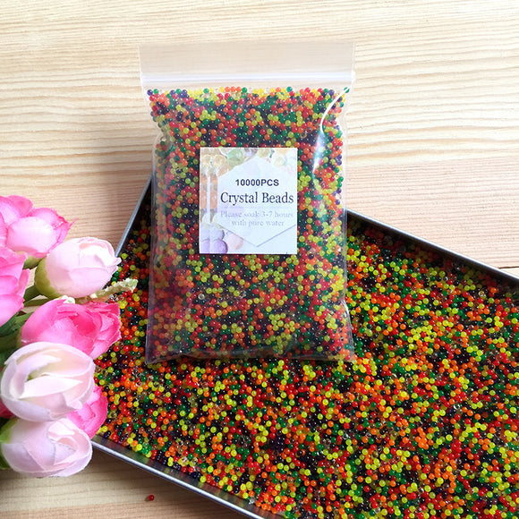 10000pcs/bag Crystal Soil Hydrogel Gel Polymer Water
