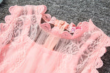 2018 Baby Girl Floral Lace Princess Tutu Dress Wedding Girls Clothes