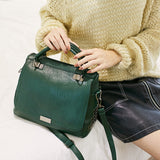 Women Soft Pu Leather Handbag Female Shoulder Bag Messenger Bag Larger Size Winter Women Bag