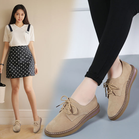 Spring women sneakers oxford shoes flats