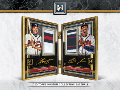 2020 Topps Museum Collection Baseball 12 Box Case Break #2 - Pick Your Team
