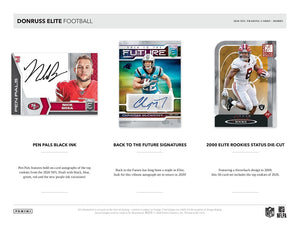 2020 Elite Football 6 Box Break #1 - Random Team