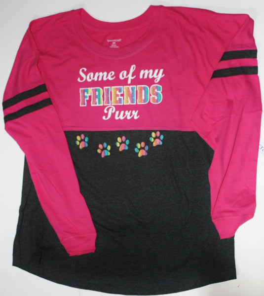 "Long Sleeve ""Some of my Friends Purr"""