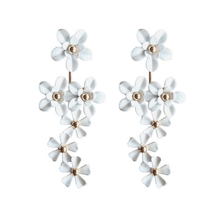 Retro Daisy Statement Earrings