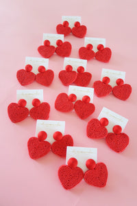 Holiday Hearts - Red