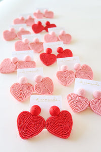 Holiday Hearts - Pink