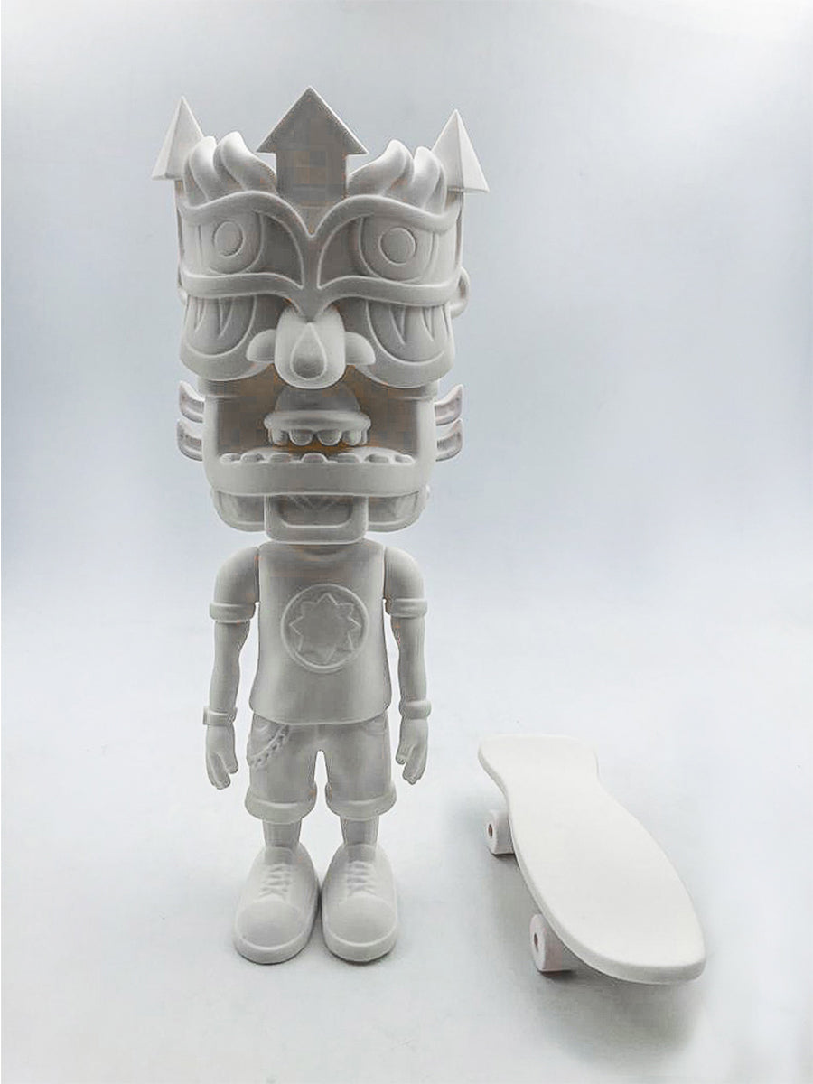 Galaktic Dude Vinyl Toy Sculpture BLANK - Positive Creations
