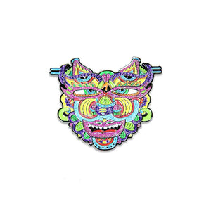 Chris Dyer Warrior Glitter Pin
