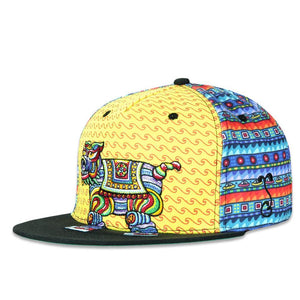 Chris Dyer Bear Elephant Dog Fitted Hat - Positive Creations