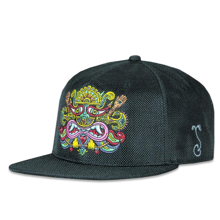 Chris Dyer El Necio Black Hemp Snapback Hat - Positive Creations