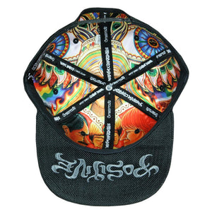Chris Dyer El Necio Black Hemp Snapback Hat