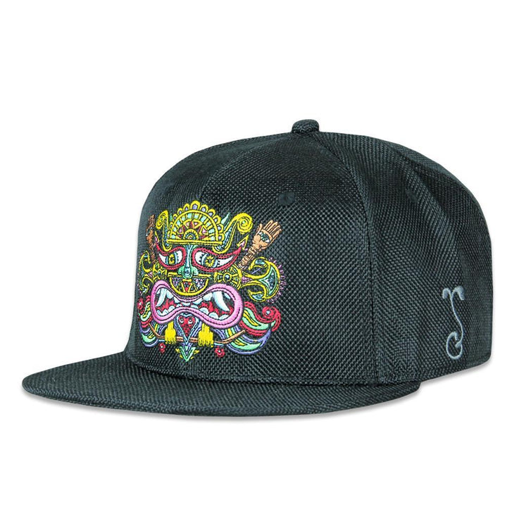 Chris Dyer El Necio Black Hemp Fitted Hat - Positive Creations