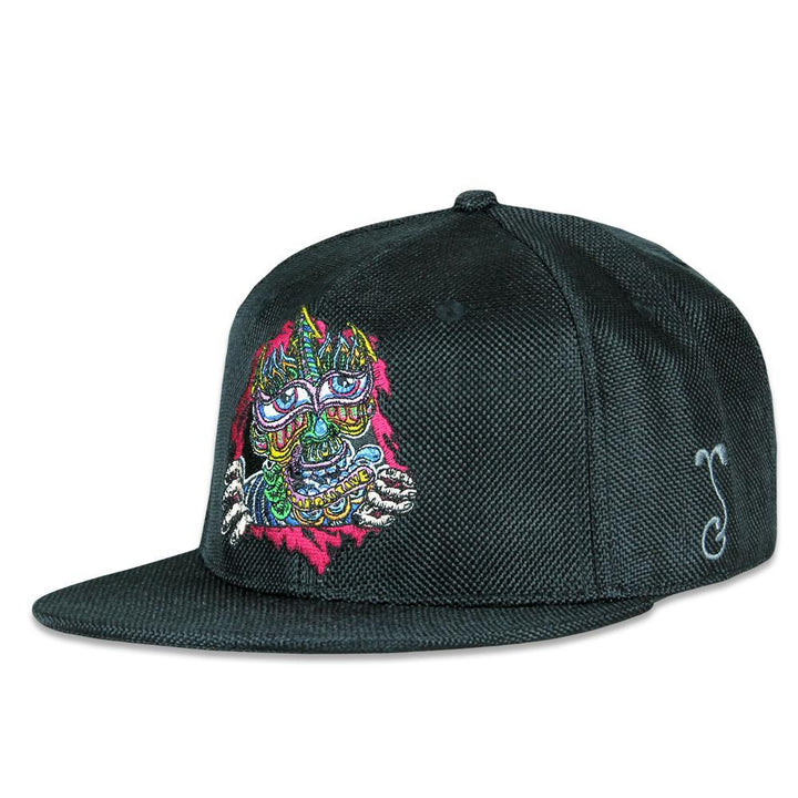 Chris Dyer Ripper Black Fitted Hat