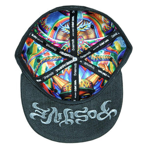 Chris Dyer Ripper Black Fitted Hat - Positive Creations