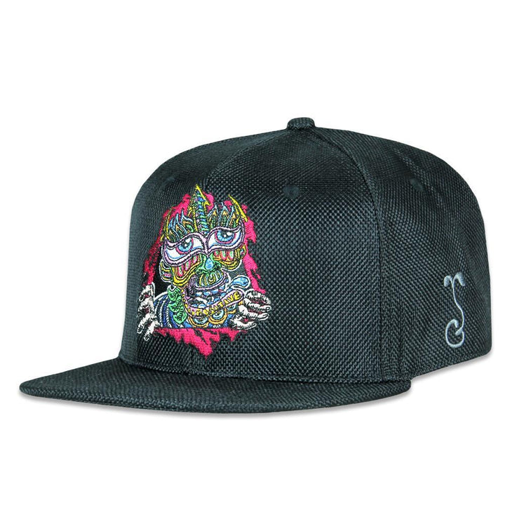 Chris Dyer Ripper Black Snapback Hat