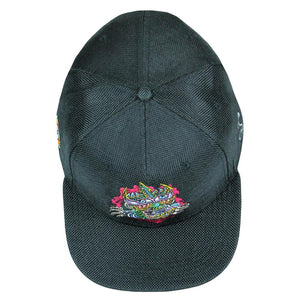 Chris Dyer Ripper Black Snapback Hat - Positive Creations