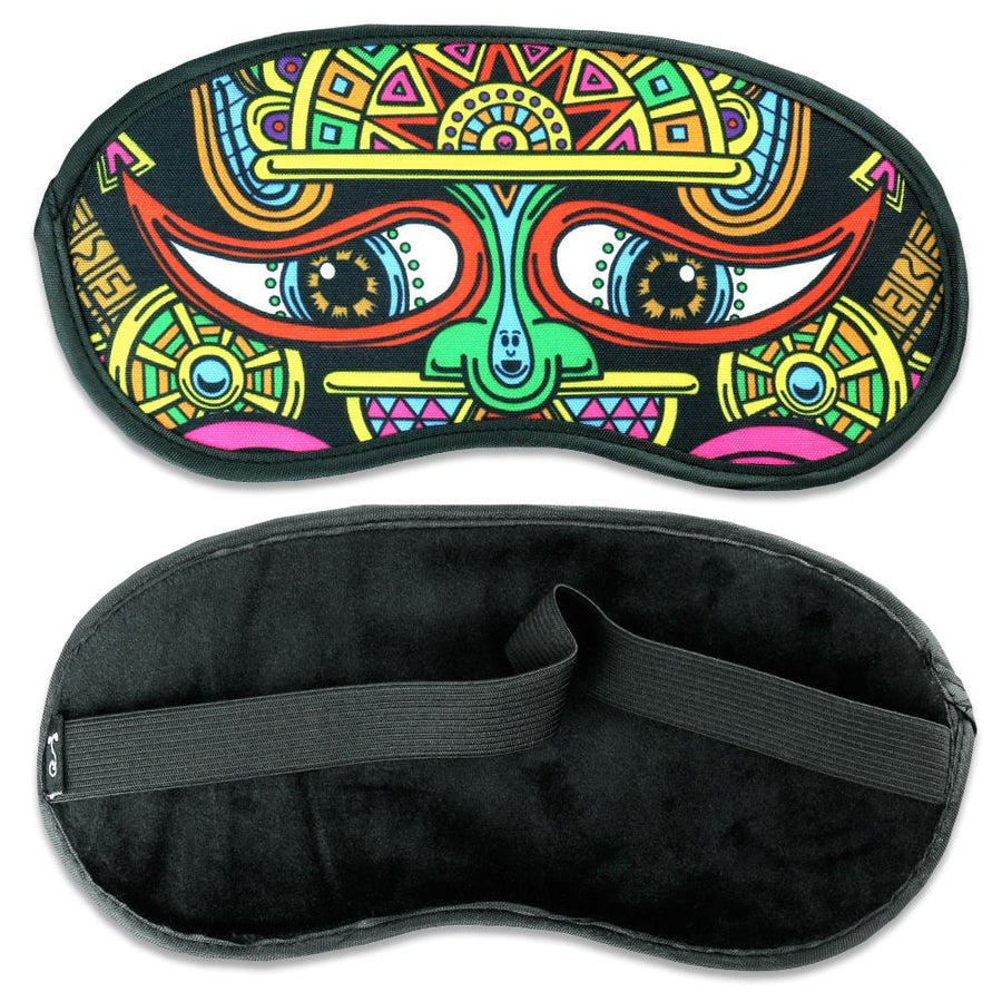 El Necio Hooded Robe + Eye Mask - Positive Creations