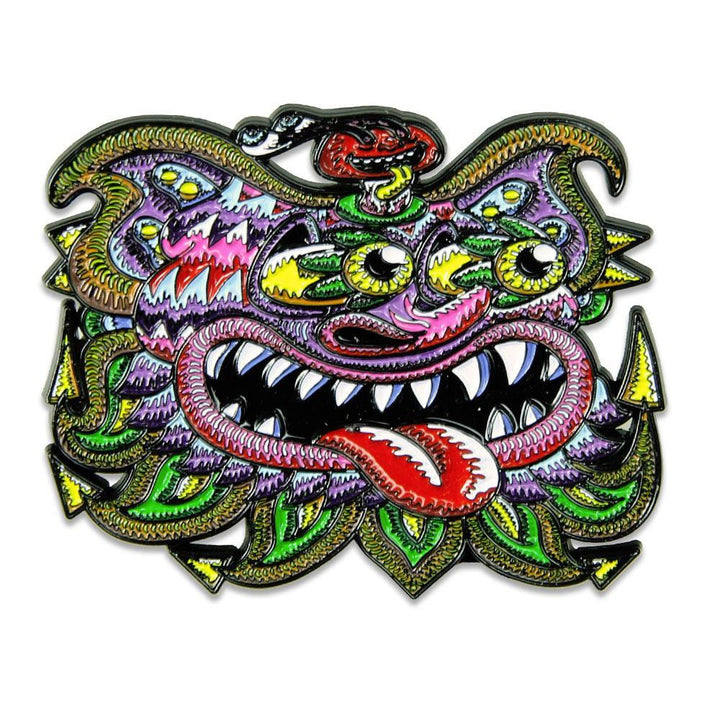 Chris Dyer Cheshire Cat Pin - Positive Creations