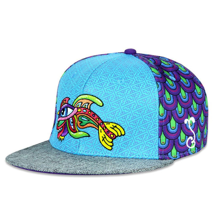 Chris Dyer Rainbow Fish Fitted Hat
