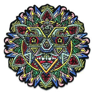 Chris Dyer Mandala Sun Iron-On Patch