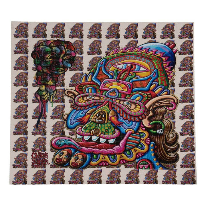 Feedback from Beyond Blotter Art