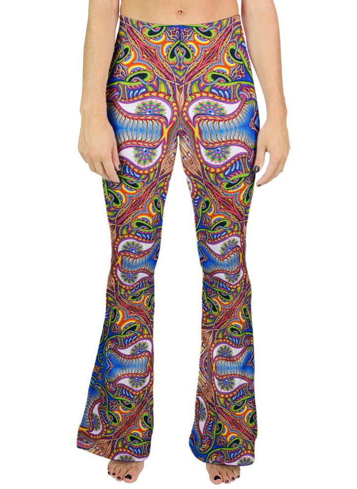 APOTHEOSIS OF DUALITREE PATTERN BELL BOTTOMS - Positive Creations