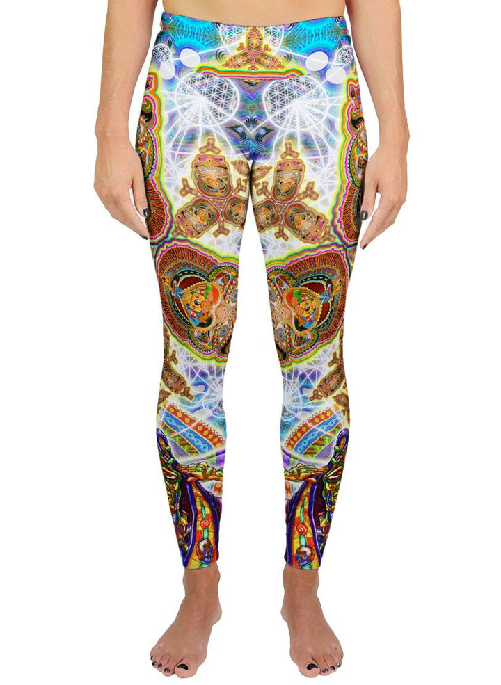 HEALING FRACTAL DIMENSION ACTIVE LEGGINGS - Positive Creations