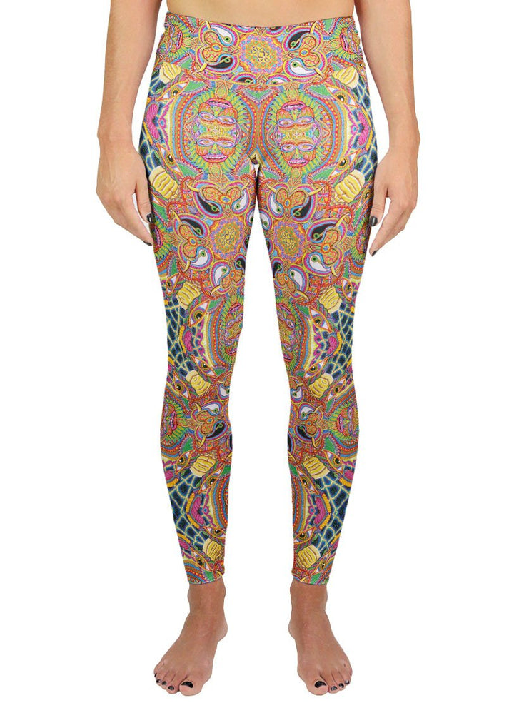 NEO HUMAN EVOLUTION PATTERN ACTIVE LEGGINGS