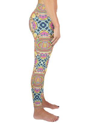 NEO HUMAN EVOLUTION PATTERN ACTIVE LEGGINGS - Positive Creations