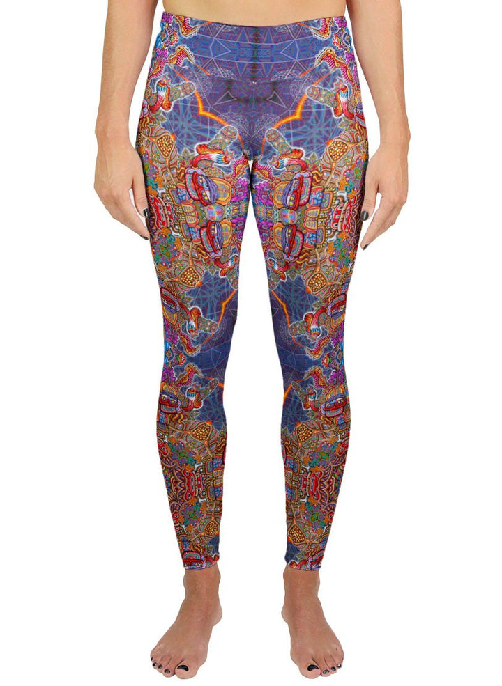INTERDIMENSIONAL REBEL PATTERN ACTIVE LEGGINGS