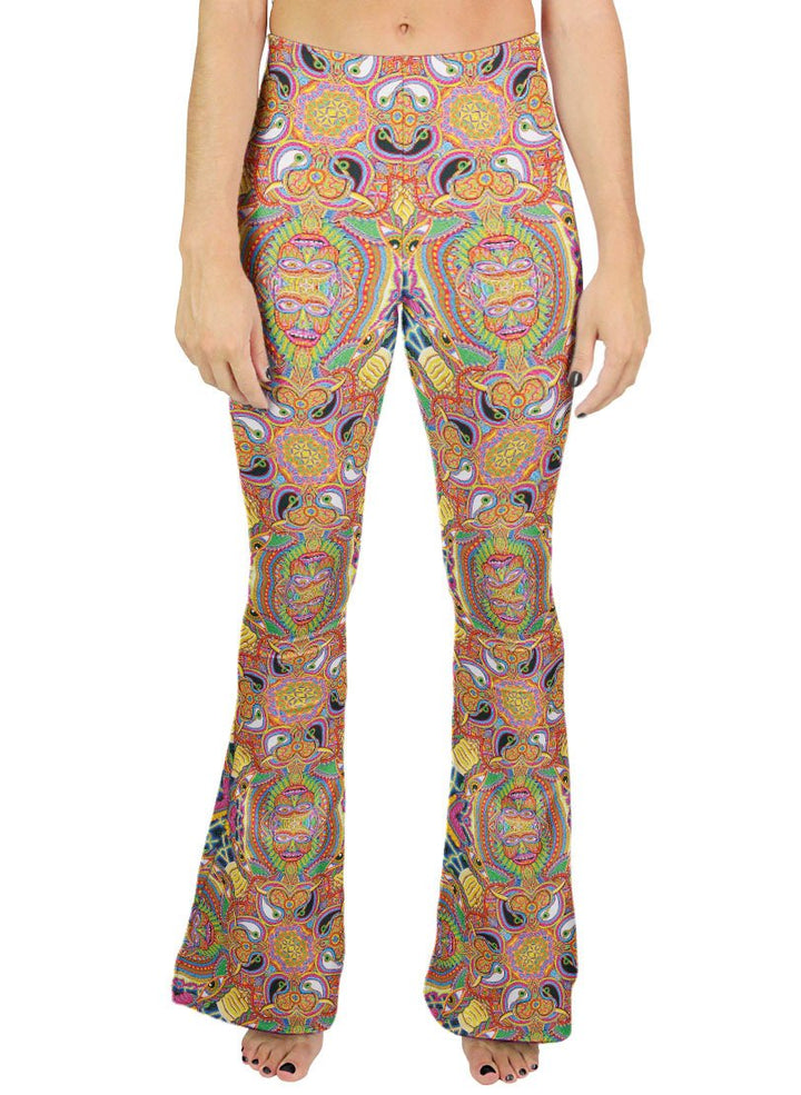 NEO HUMAN EVOLUTION PATTERN BELL BOTTOMS