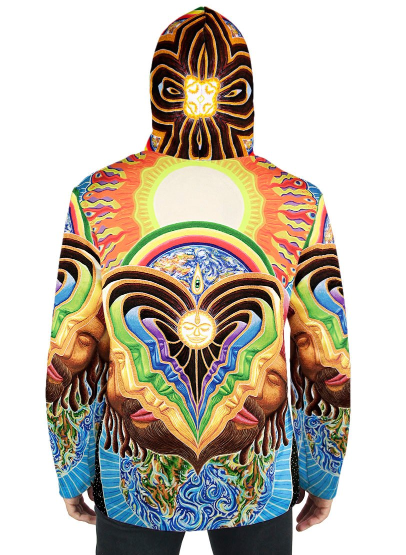 Peeling Bodies Fusion Hoodie - Positive Creations