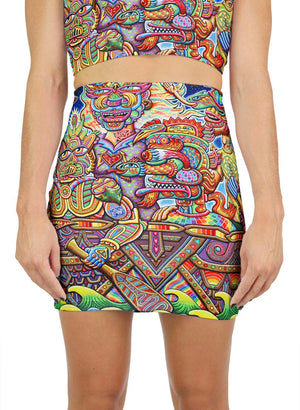 OPTIMYSTICS JOURNEY MINI SKIRT - Positive Creations