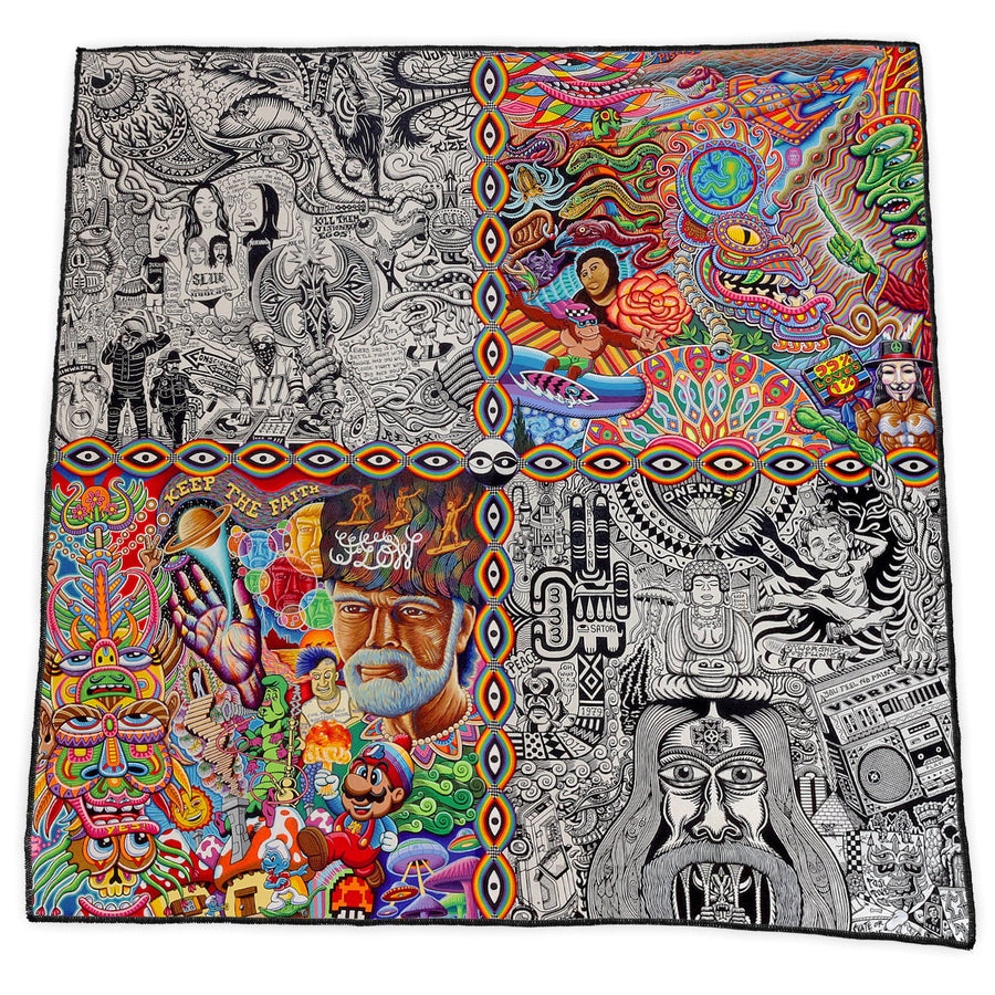 CHAOS CULTURE JAM BANDANA - Positive Creations