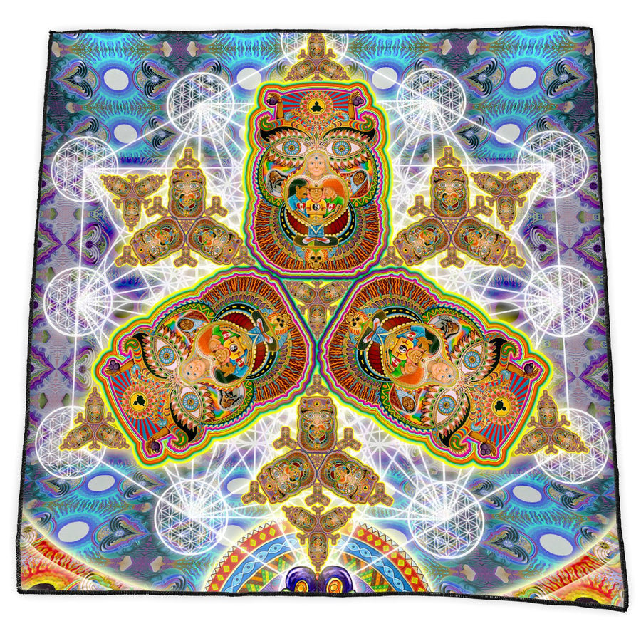 HEALING FRACTAL DIMENSION BANDANA - Positive Creations