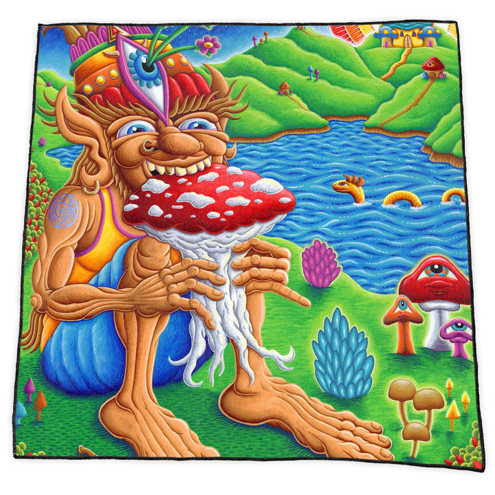 MUNCHER OF MUSHROOMLAND BANDANA - Positive Creations