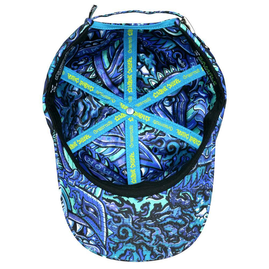 Rainbow Serpent Dad Hat Blu - Positive Creations