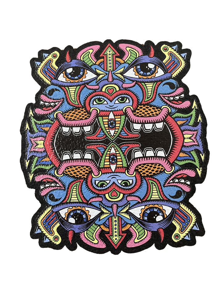 Double Bubble Face Chris Dyer Mood Mat