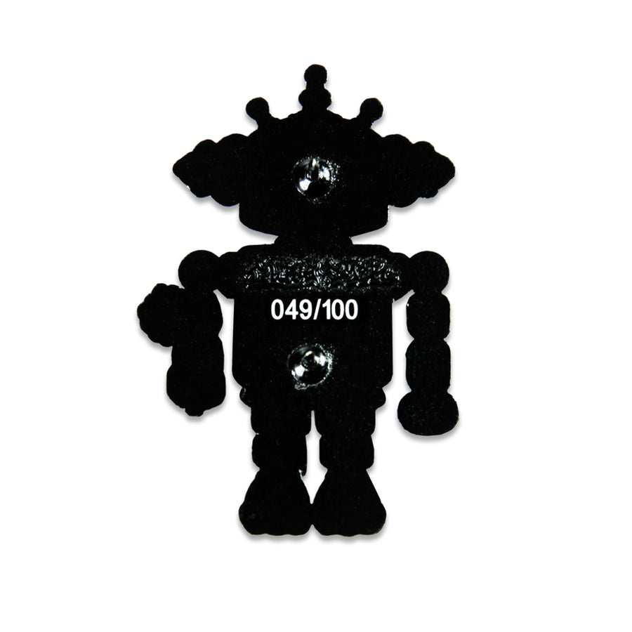 Chris Dyer x Ott Official Baby Robot Pin