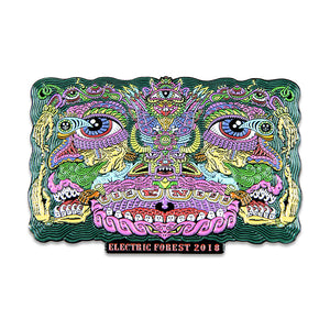 Electric Forest 2018 Color Pin