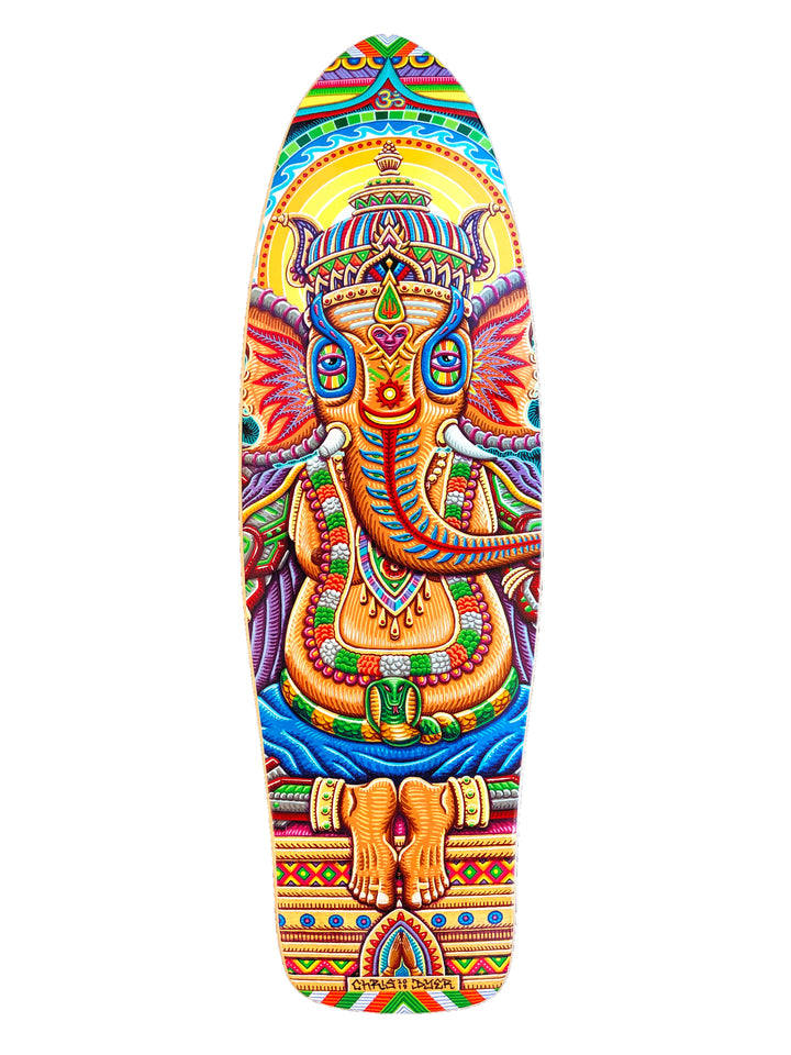 Jai-Ganesha Mini Cruiser Skateboard Deck - Positive Creations