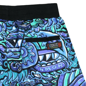 Chris Dyer Rainbow Serpent Shorts - Positive Creations