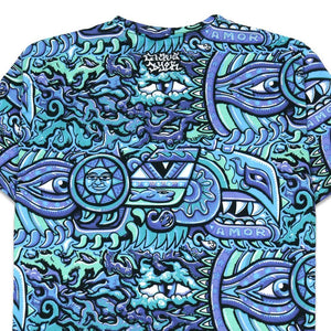 Rainbow Serpent Blu T-Shirt - Positive Creations