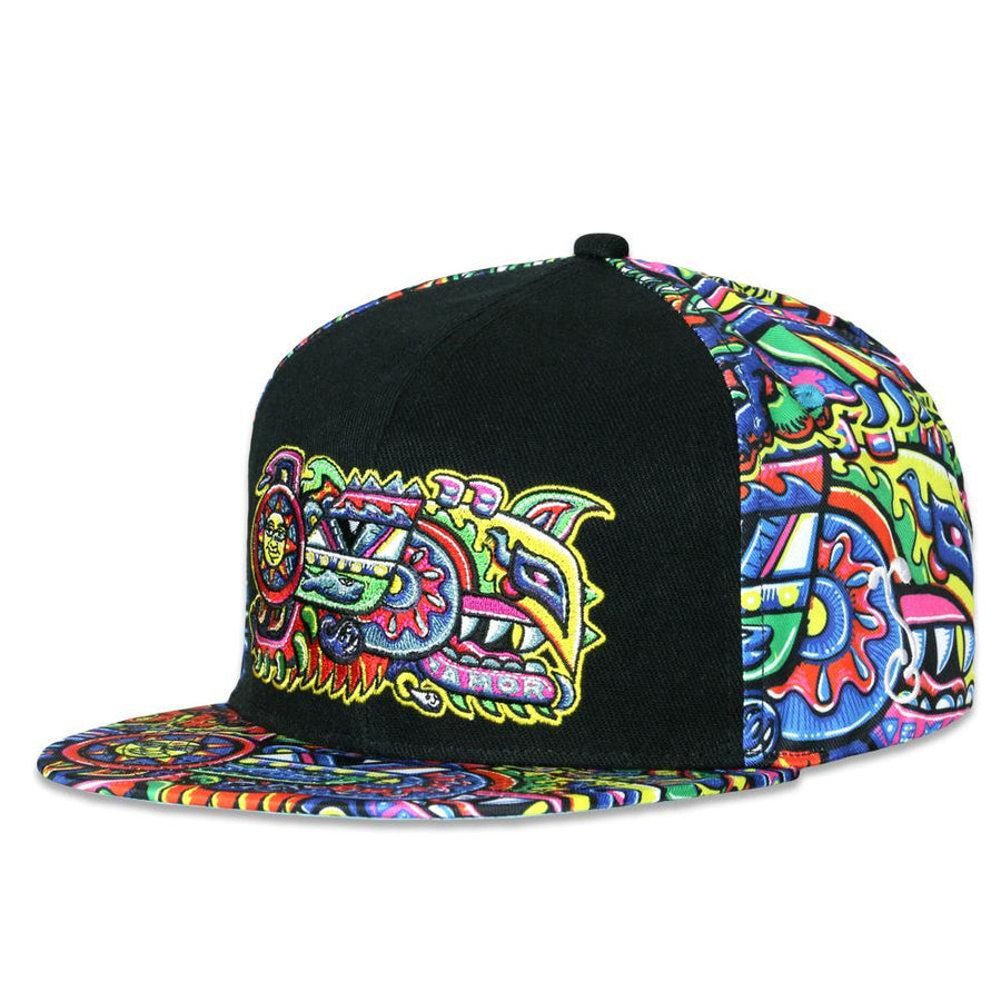 Rainbow Serpent Chris Dyer X Grass Roots Snap Back Hat