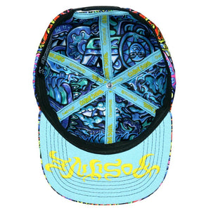 Rainbow Serpent Chris Dyer X Grass Roots Snap Back Hat - Positive Creations