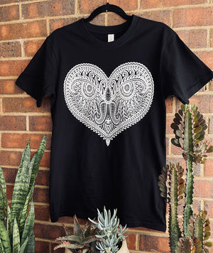 Happy Heart Organic T-Shirt
