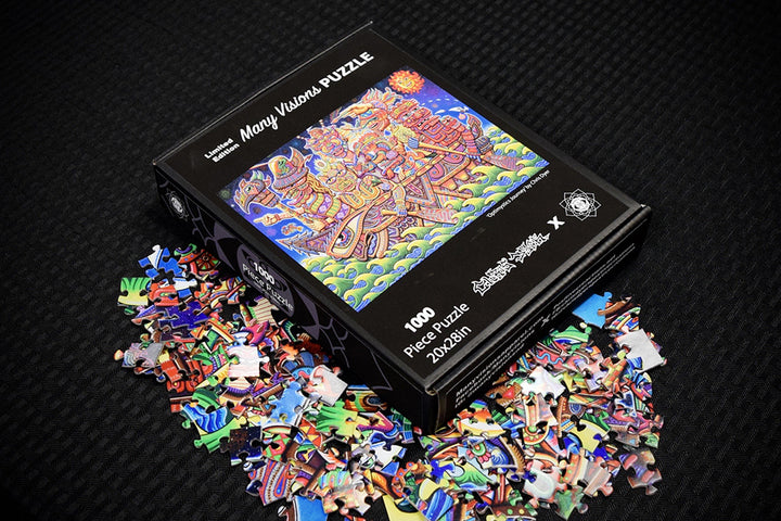 Optimystics Journey 1000 Piece Puzzle - Positive Creations