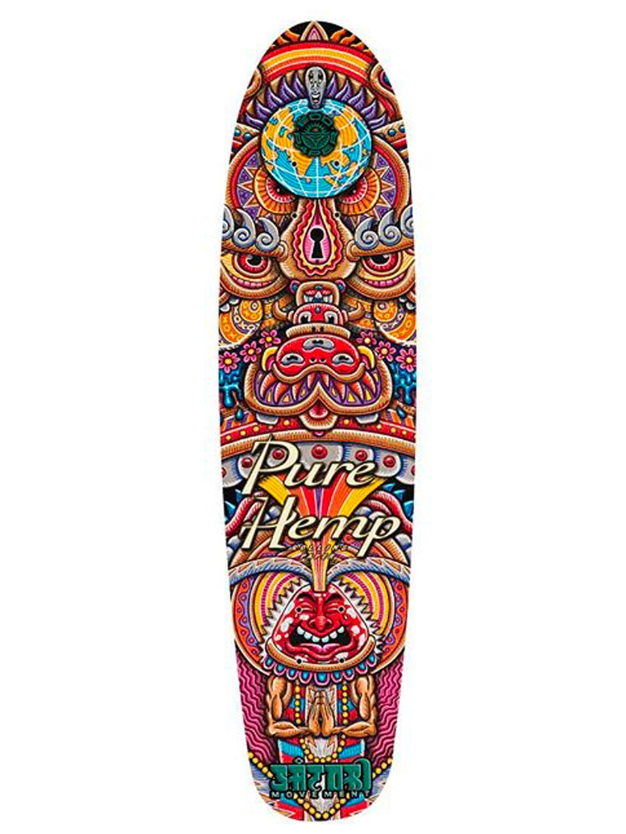 Kundalini Rising Mini Cruiser Skateboard Deck - Positive Creations