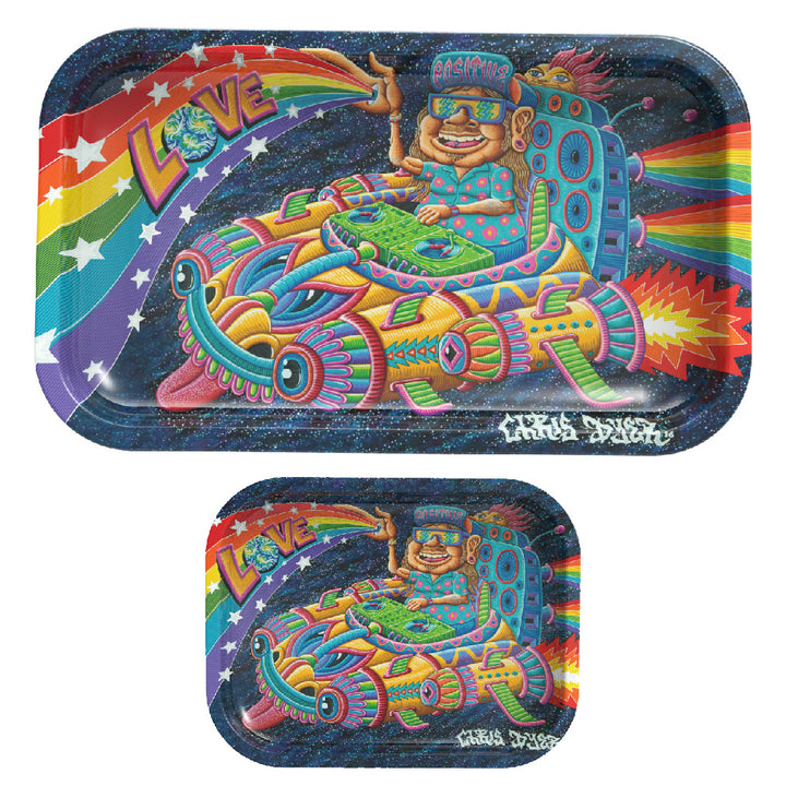 Space Selecta Rolling Tray